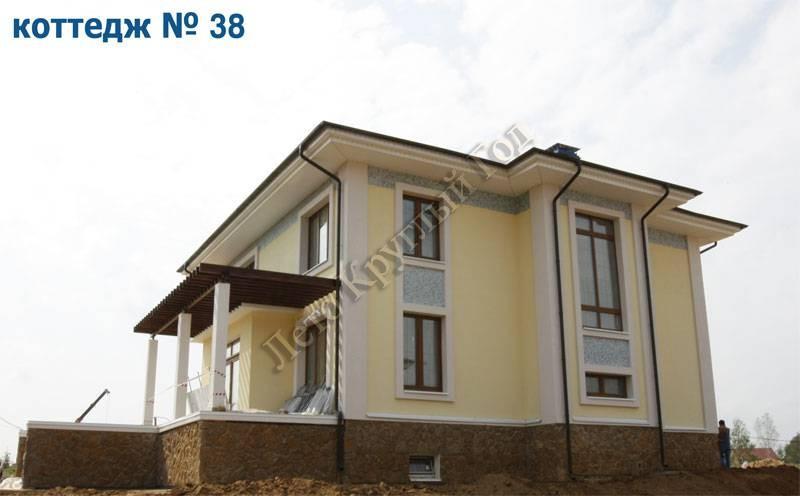 Место положения: МО, коттеджный поселок «Рождествено», объекты за 2008 год